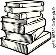 Clipart images of a pile of books png freeuse library Stack Of Books Clip Art - Royalty Free - GoGraph png freeuse library