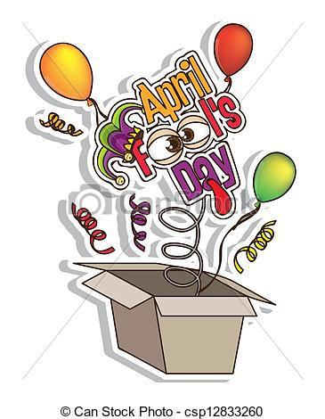 Clipart images of april fools day picture royalty free library Clip Art Vector of April Fool's Day - Illustration of April Fools ... picture royalty free library