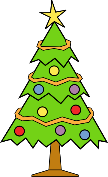 Tiny christmas tree clipart simple picture black and white Free Christmas Tree Cliparts, Download Free Clip Art, Free Clip Art ... picture black and white