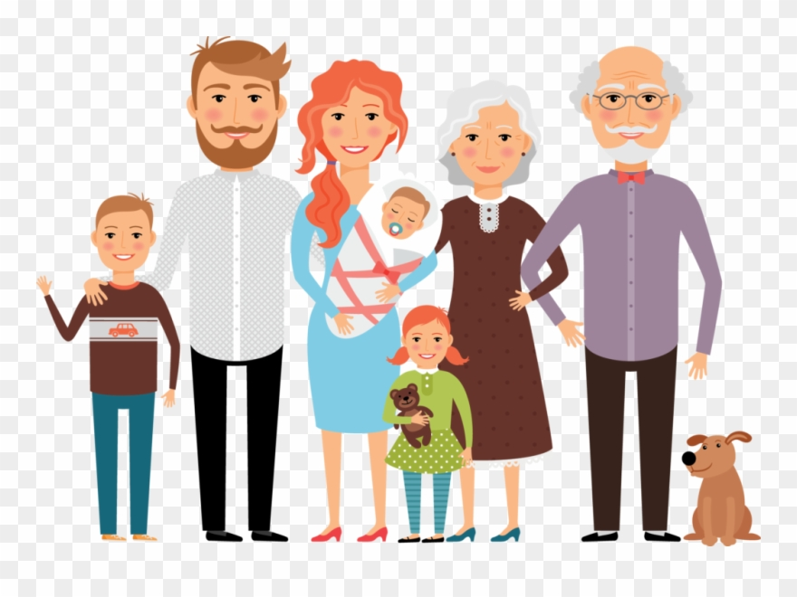 Clipart images of family members banner royalty free download Mother - Location - Introduce Your Family Members Clipart (#655820 ... banner royalty free download