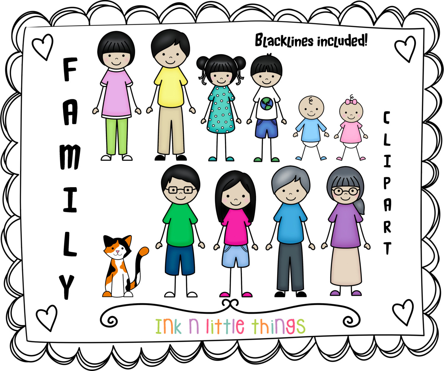 Clipart images of family members png freeuse library Free Family Members Clipart, Download Free Clip Art, Free Clip Art ... png freeuse library