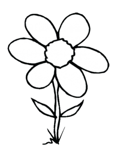 Clipart images of flwers black and white jpg black and white 999+ Flower Clipart Black And White [Free Download] - Cloud Clipart jpg black and white