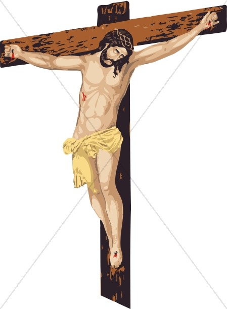 Clipart picture of jesus on the cross clip art freeuse stock Cross Clipart, Cross Graphics, Cross Images - ShareFaith clip art freeuse stock