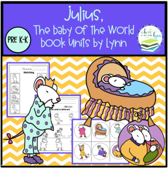Clipart images of julius the baby by kevin henkes svg library Julius, the Baby of the World- Book Unit svg library
