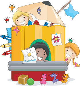 Clipart images of kids reading by or on apples jpg royalty free Kindergarten - What Teachers Expect and What You Can Expect - Red ... jpg royalty free