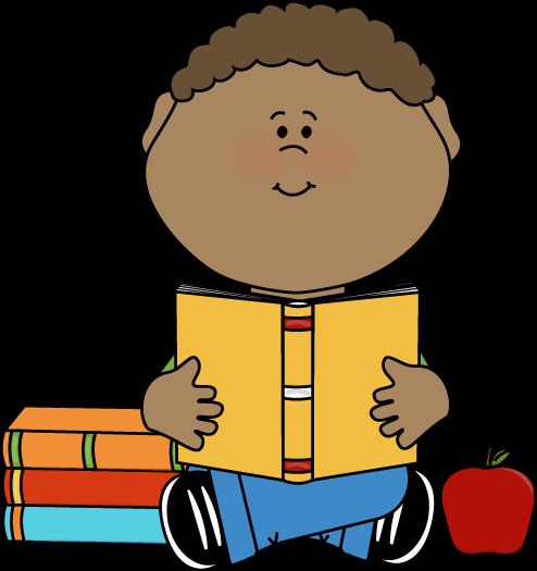 Student directory clipart clip transparent stock Boy Reading Clip Art | Little Boy Reading a School Book Clip Art ... clip transparent stock