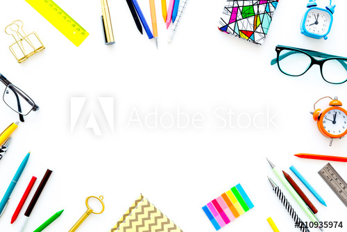 Clipart images of old fashion college stationery backgrounds
