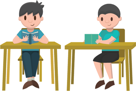 Clipart images of people taking exam or test clipart How To Cheat On A Test – Take My Online Class clipart