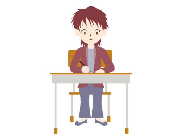 Clipart images of people taking exam or test picture royalty free library Take the qualification exam / test | People illustration | Free ... picture royalty free library
