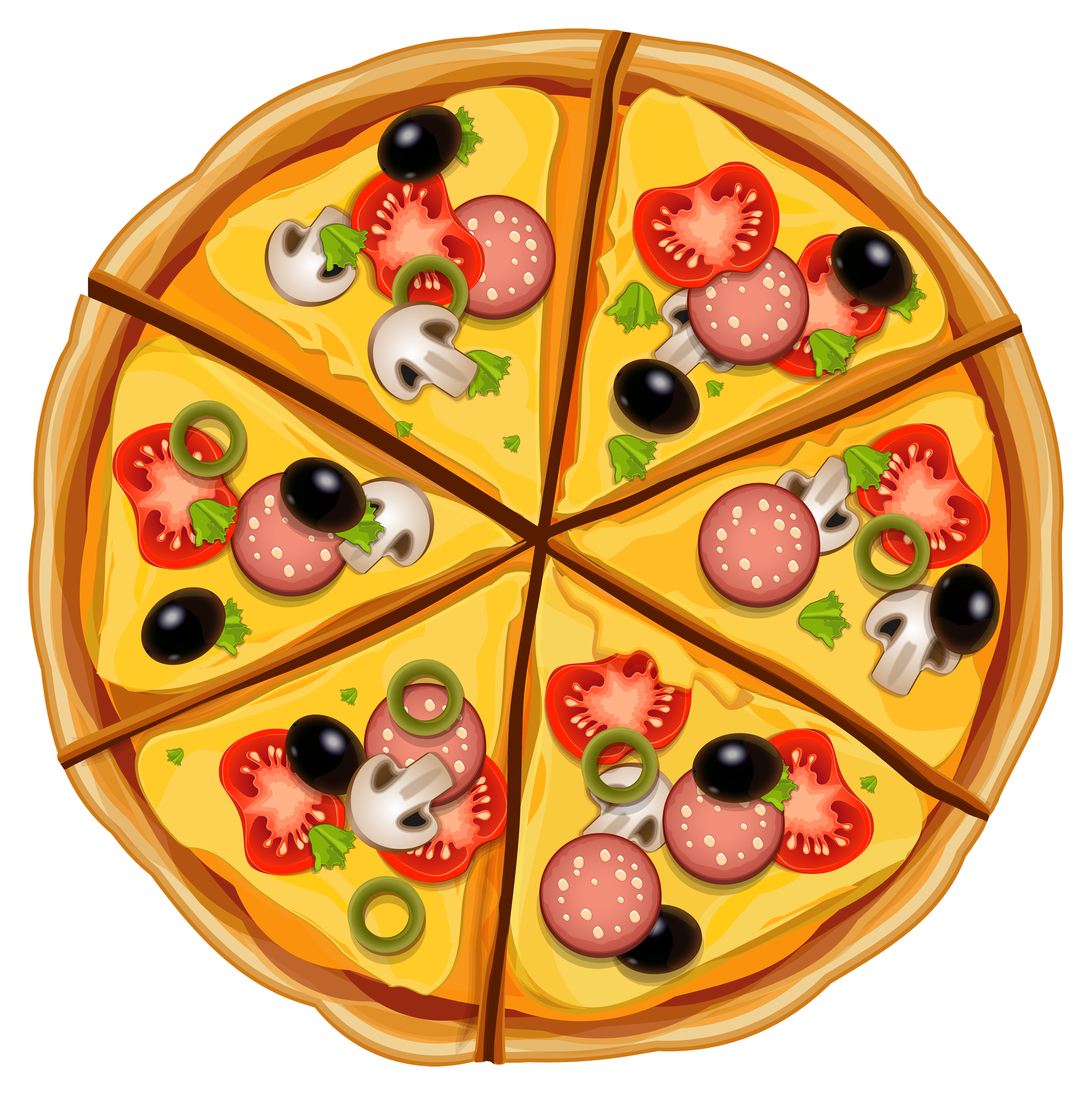 Pizza clipart png transparent stock Pizza PNG Clipart - Best WEB Clipart transparent stock
