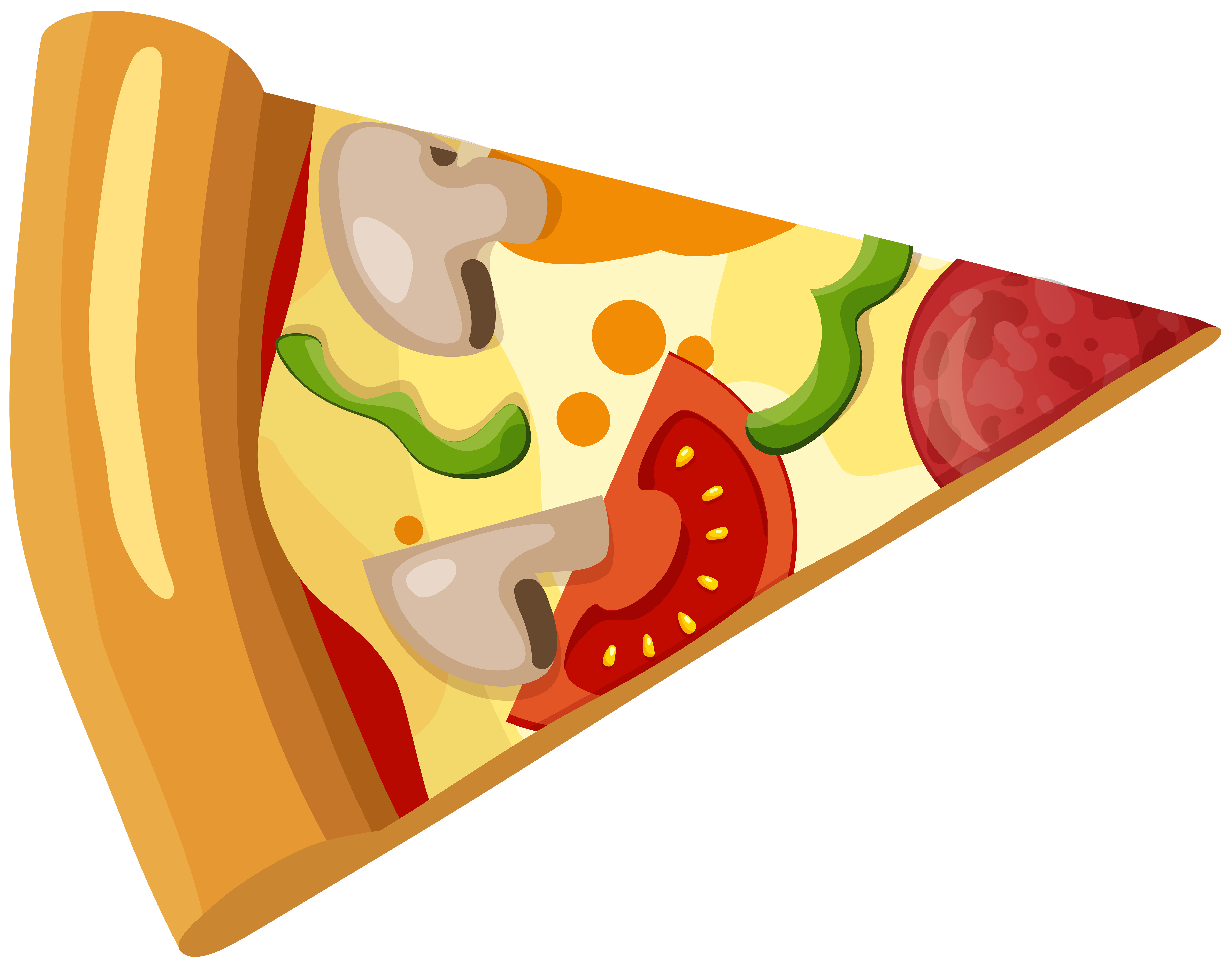 Pizza clipart png clip library library Pizza Slice PNG Clip Art - Best WEB Clipart clip library library