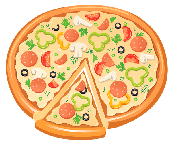 Clipart images of pizza vector black and white stock Free Pizza Cliparts, Download Free Clip Art, Free Clip Art on ... vector black and white stock