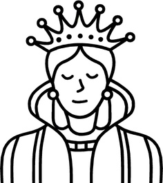 Clipart images of queen. Free download clip art