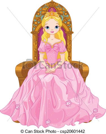 Clipart images of queen. Stock illustrations clip art