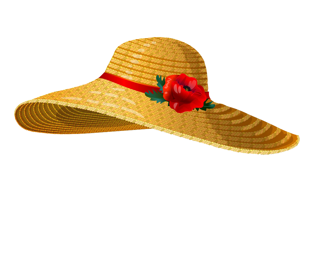 Clipart sun hat clip library download Straw hat Stock photography Clip art - Cartoon female hat image ... clip library download