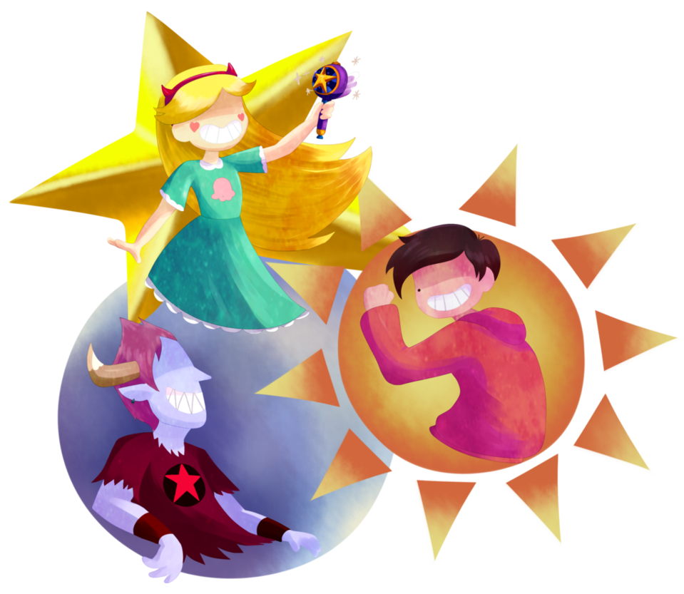 Clipart of sun moon and stars banner free download The Star, Sun and Moon by Eleanorose123 on DeviantArt banner free download