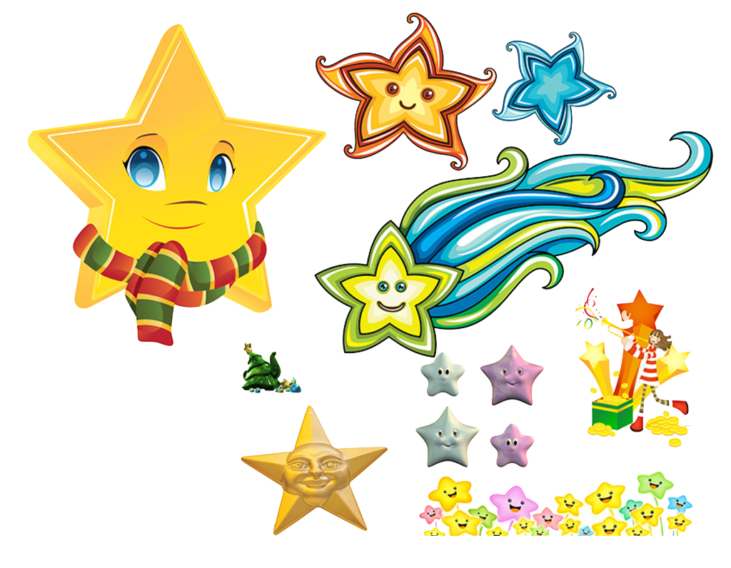 Clipart images of sun moon and stars graphic Moon Sun Clip art - Smiling stars 1024*796 transprent Png Free ... graphic