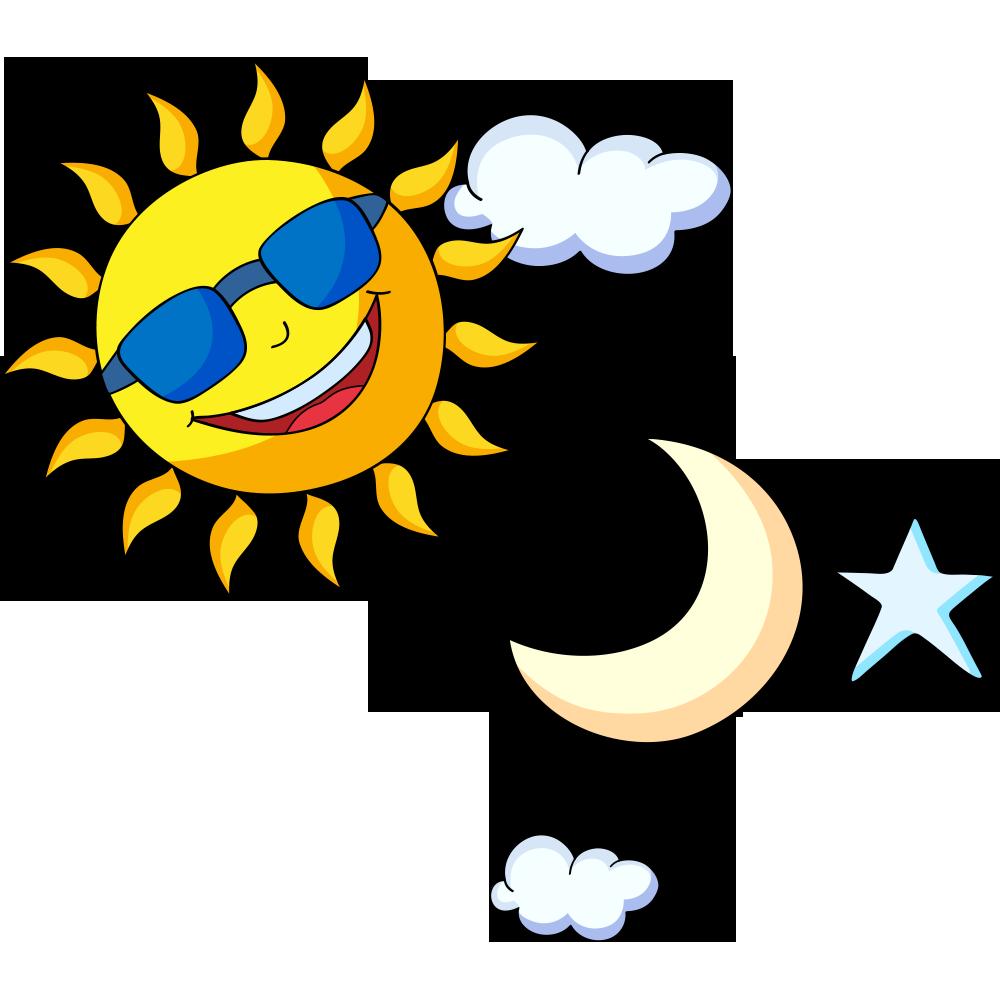 Sun moon stars free clipart clip art black and white download Pokxe9mon Sun and Moon Cartoon Drawing Clip art - Creative cartoon ... clip art black and white download