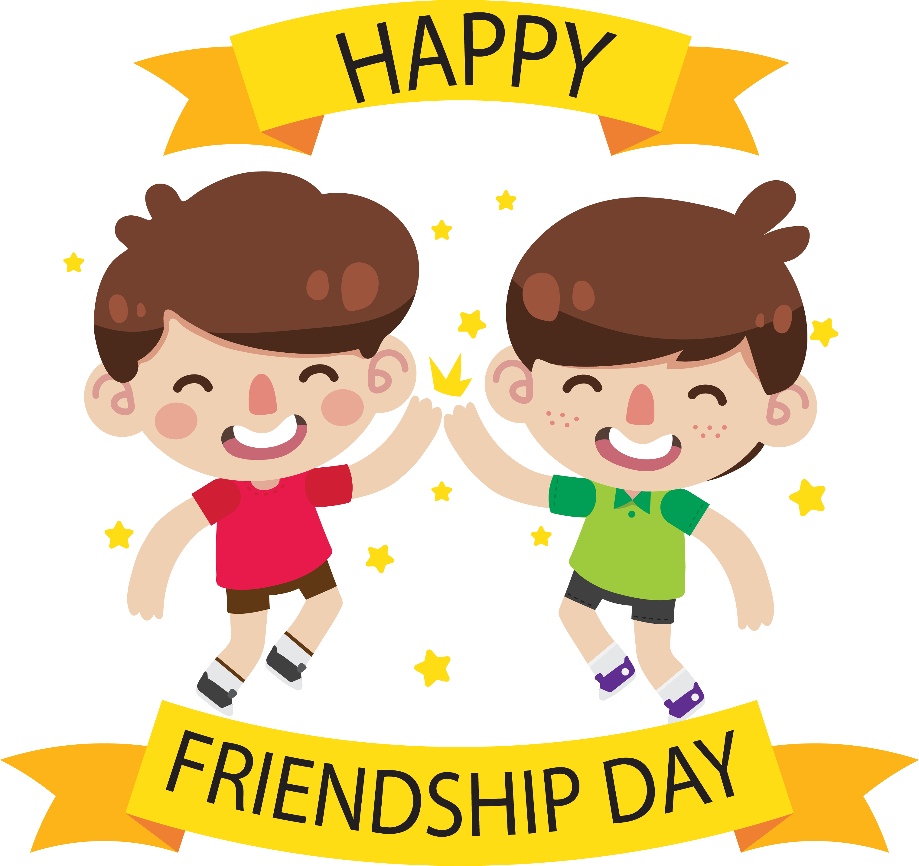 Clipart images of symbols kids of friendships jpg freeuse Free PNG Happy Friendship Day | Konfest jpg freeuse