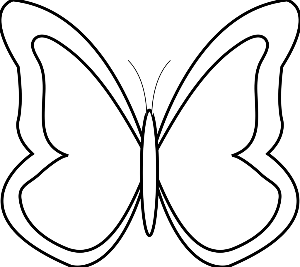 Clipart images of thanksgiving butterflies svg freeuse stock Butterfly Flying Outline Clipart Butterflies 20clipart 8982 Lip Art ... svg freeuse stock