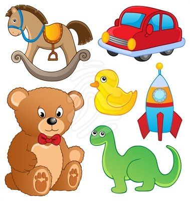 Clipart images of toys picture black and white library Toys Clip Art   Clipart Panda - Free Clipart Images picture black and white library