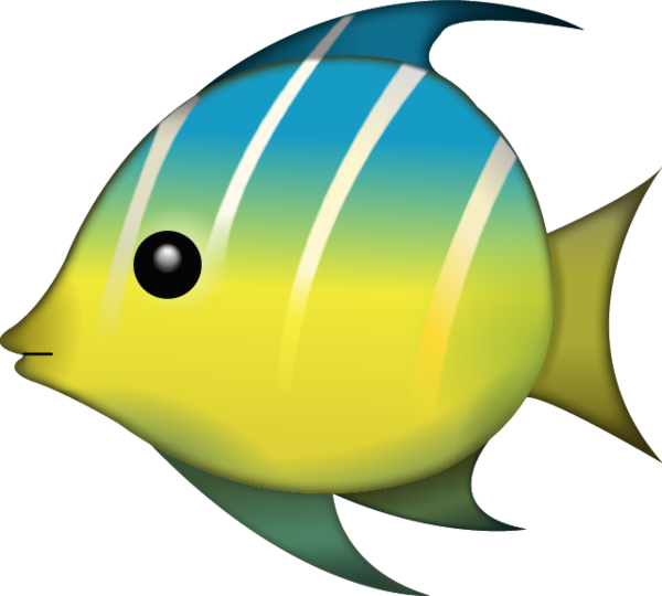 Clipart images of tropical fish svg freeuse library Download Tropical Fish Emoji Image in PNG | Emoji Island svg freeuse library