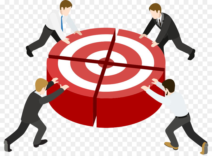 Clipart images teamwork heading for the goal banner free Marketing Background banner free
