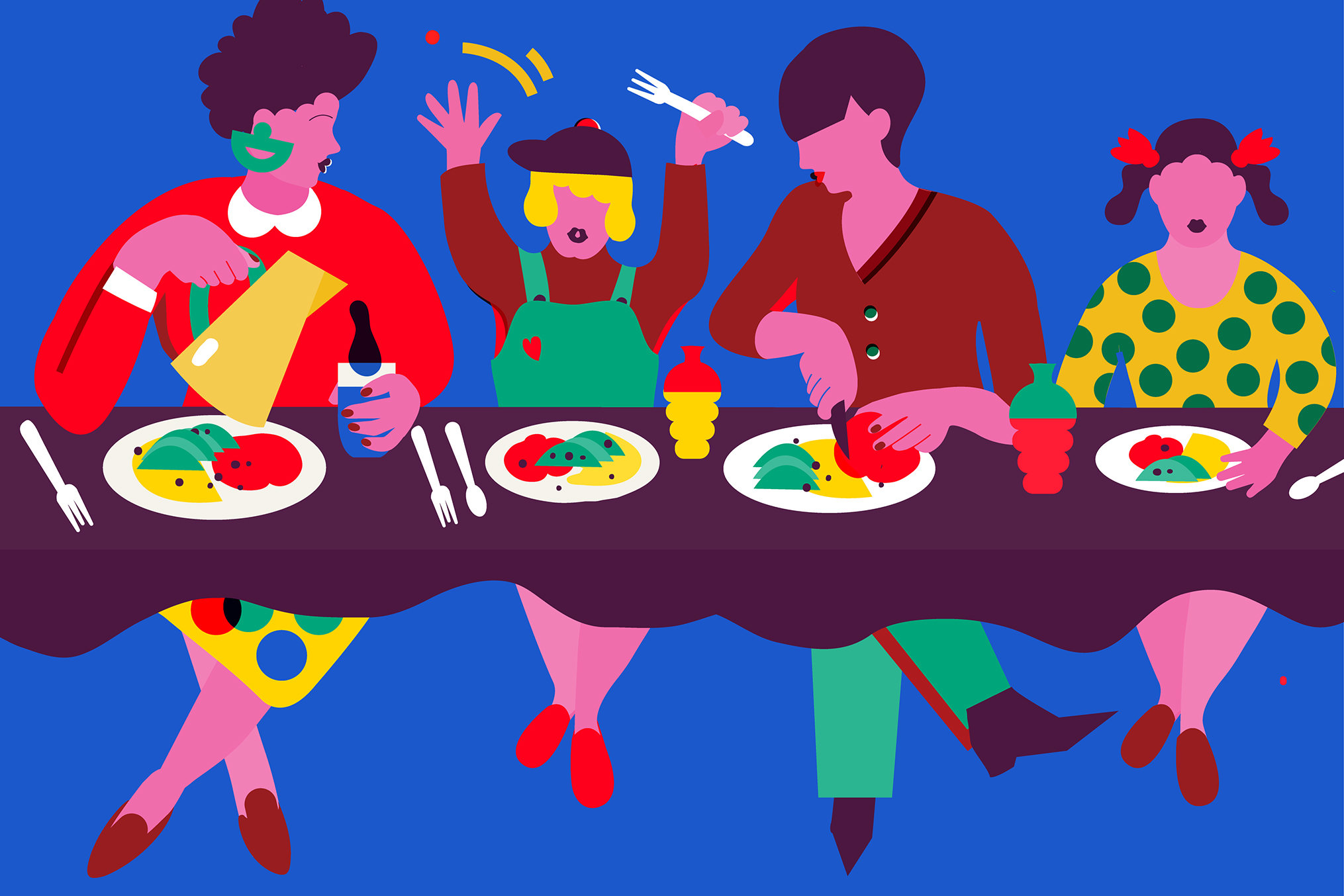 Teen breakfast clipart svg royalty free download The Family Table - Well Guides - The New York Times svg royalty free download