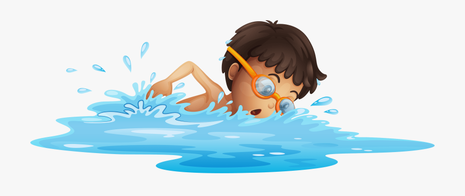 Swim cartoon clipart clipart free stock Swimming - Swimming Clipart Transparent Background , Transparent ... clipart free stock