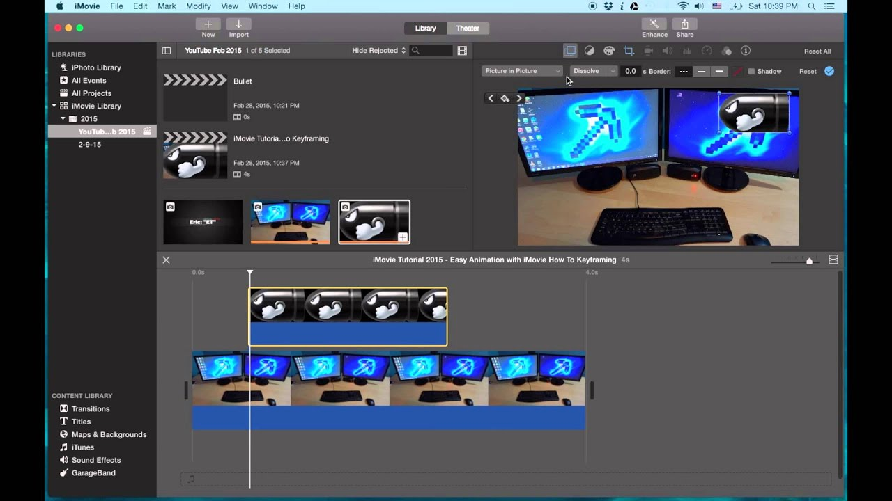 Clipart imovie banner royalty free download iMovie Tutorial 2015 - Easy Animation with iMovie | How To Do Keyframing in  iMovie banner royalty free download