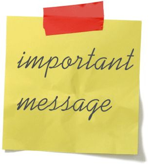 Clipart important message picture download Important Message Clipart image tips picture download