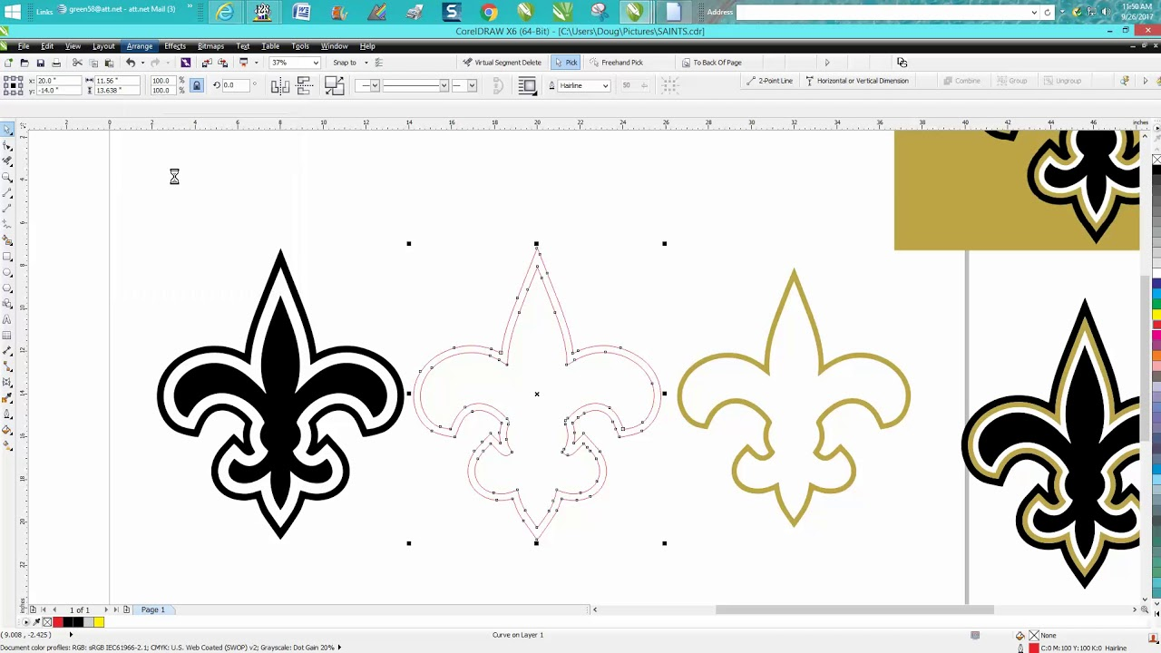 Corel draw clipart banner freeuse library Corel Draw Tips & Tricks Clipart trace start with BETTER Clipart banner freeuse library