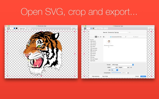 Clipart in jpg umwandeln mac picture black and white download SVG Converter - Ohanaware.com im Mac App Store picture black and white download