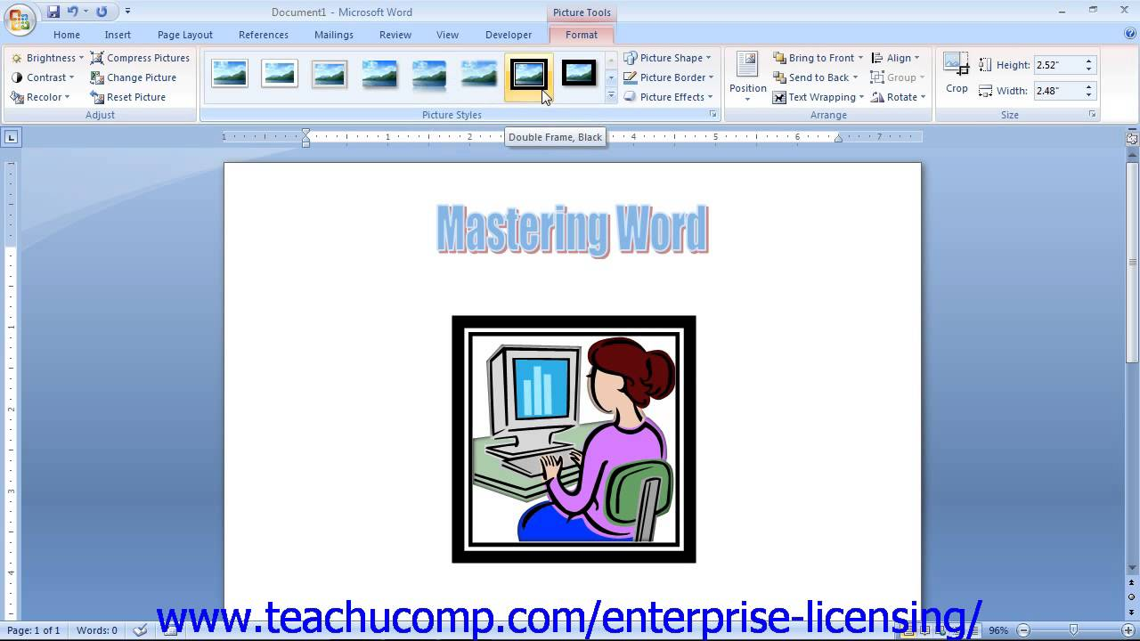 Www microsoft clipart gallery vector freeuse download Microsoft Office Word 2013 Tutorial Using Clip Art 12.5 Employee Group  Training vector freeuse download