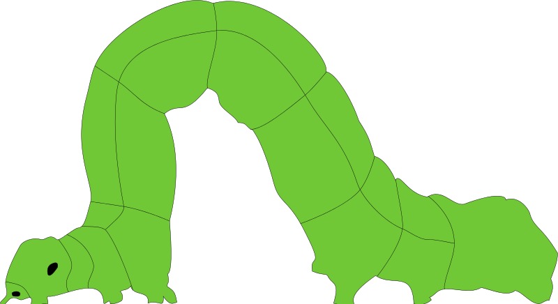 Clipart inchworm clipart royalty free library Free Clipart: Inchworm | xavidotron clipart royalty free library