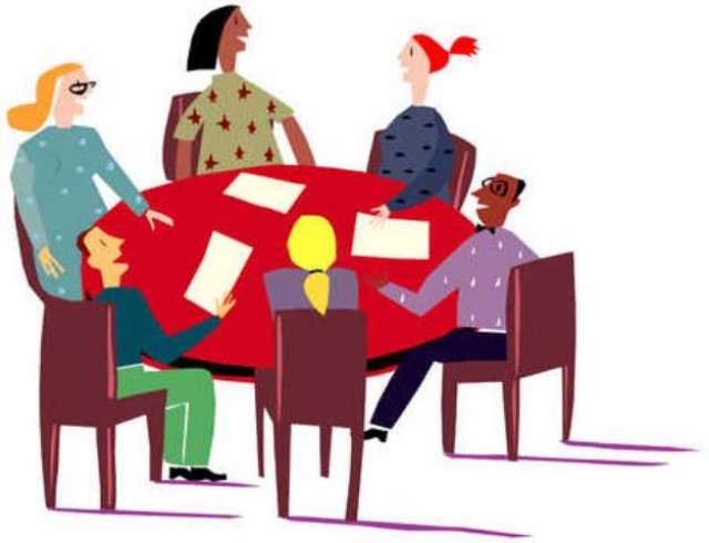 clipartlook. Free clipart small group at a table