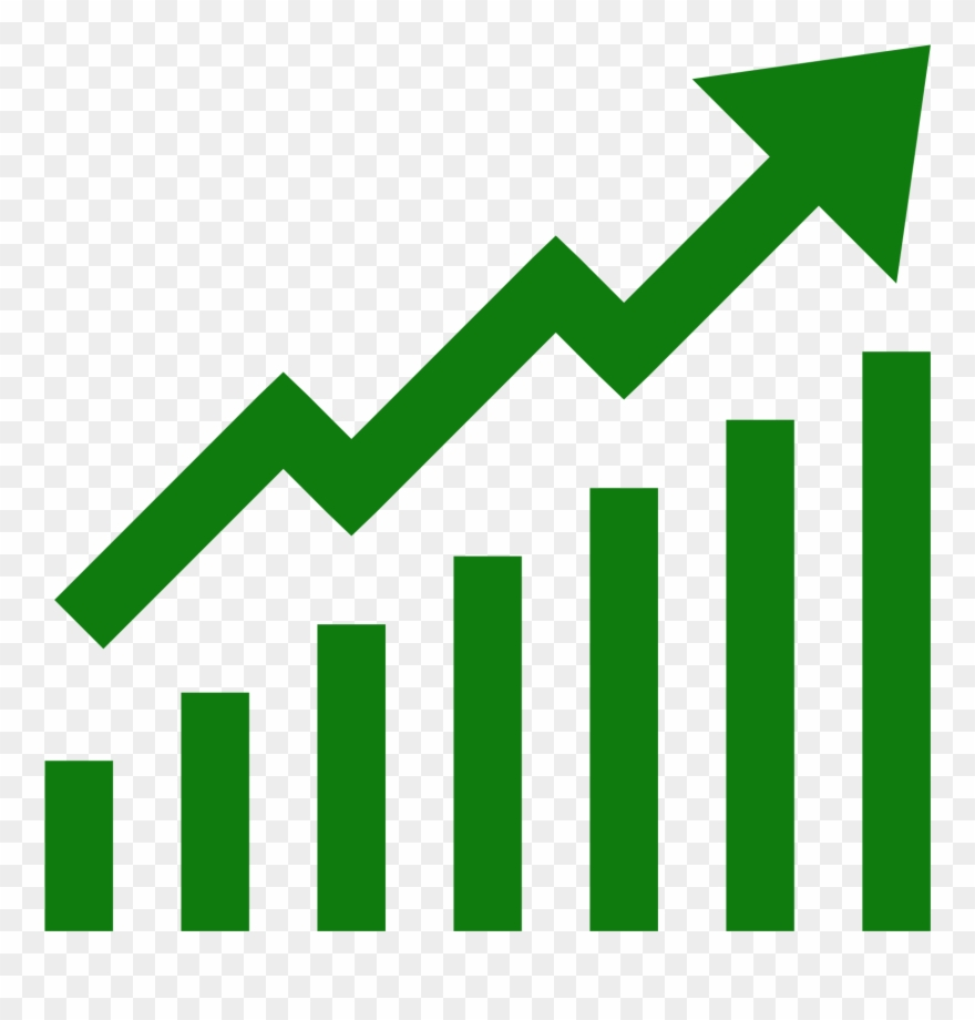 Clipart increase graphic library library Increase Sales Icon Png Download - Growth Icon Red Clipart (#1785584 ... graphic library library