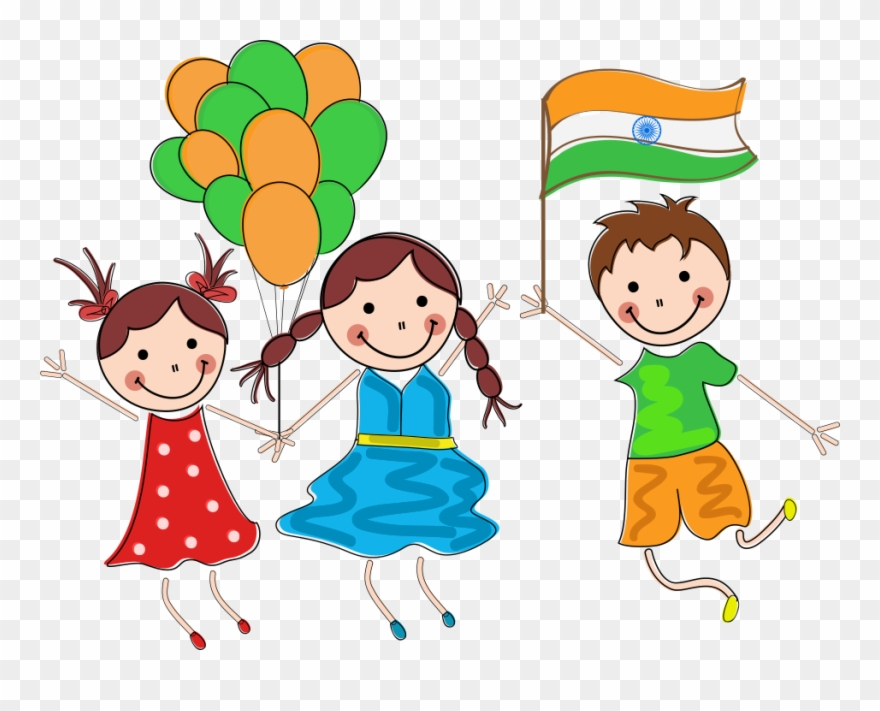 Clipart independence png stock Indian Day Child Republic - Independence Day India Balloons Clipart ... png stock