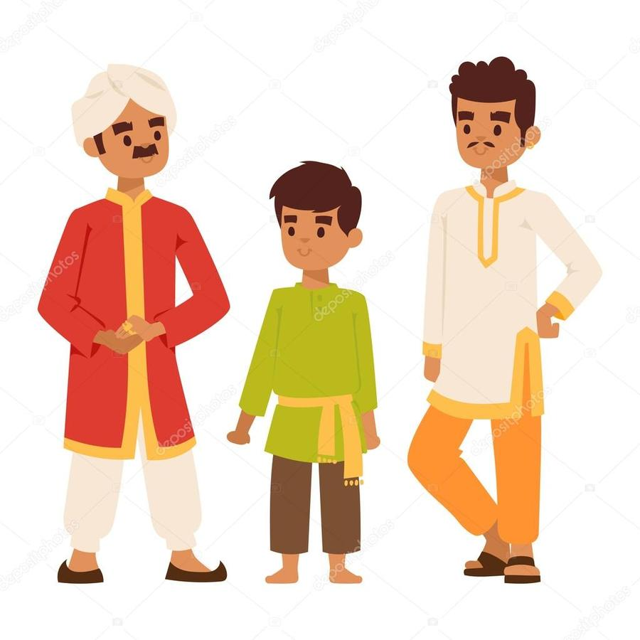 Clipart india people clipart free library Download indian man vector clipart India Clip art | India ... clipart free library