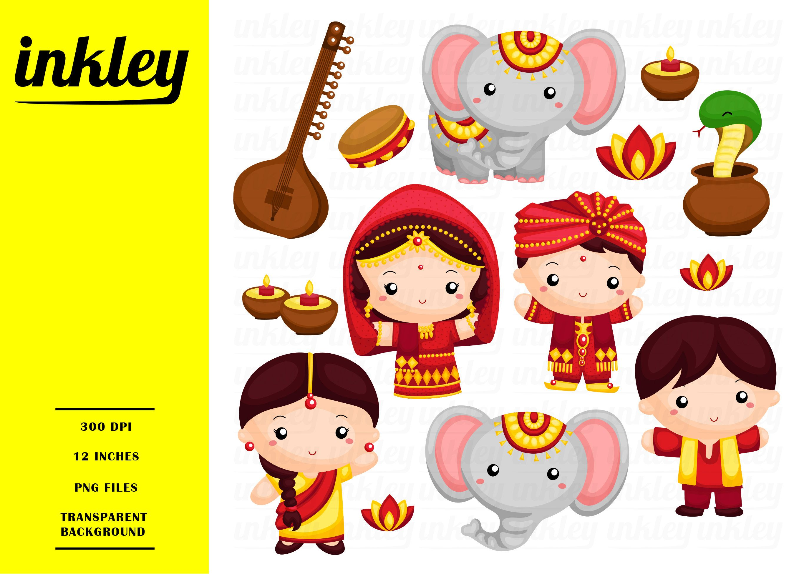 Clipart india people graphic library 50%OFF Cute India Clipart Cute Clipart People Clipart | LIKE | Clip ... graphic library