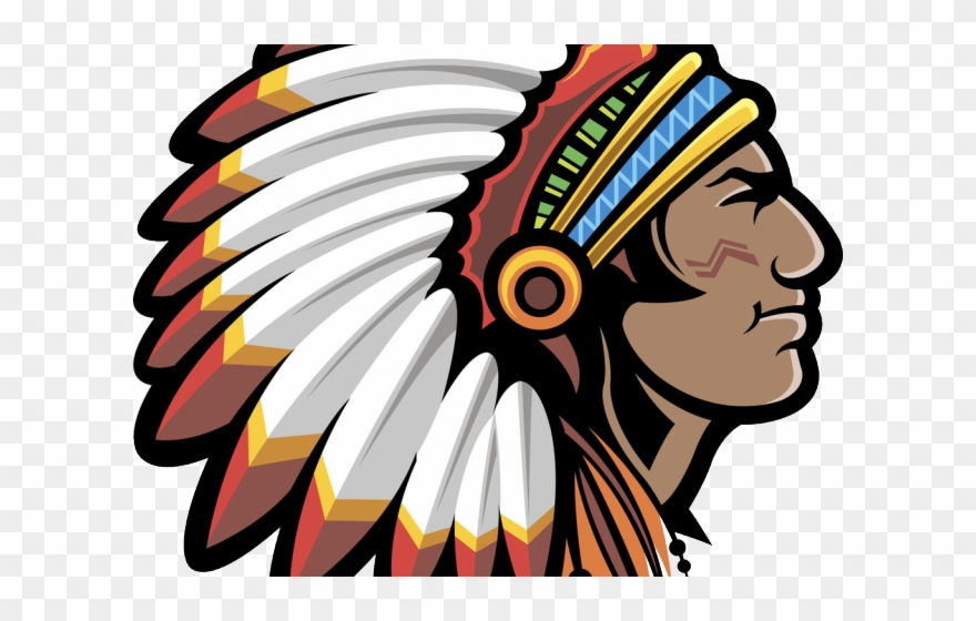 Clipart indian chief clip library Indians Clipart Indian Head - Vinyl Sticker Decal Indian Chief Atv ... clip library