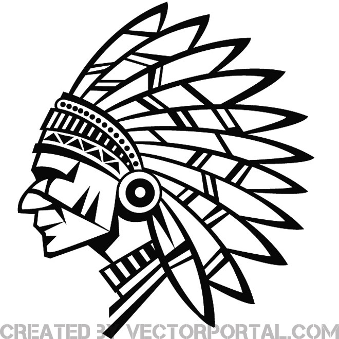 Clipart indian chief vector transparent INDIAN CHIEF VECTOR STOCK - Free vector image in AI and EPS format. vector transparent