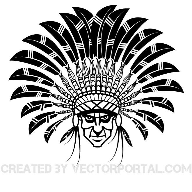 Clipart indian chief library INDIAN CHIEF VECTOR CLIP ART | Clipart Panda - Free Clipart Images library