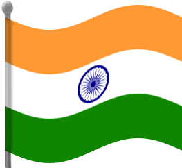 Clipart indian flag jpg free library Free Indian Flag Png, Download Free Clip Art, Free Clip Art on ... jpg free library