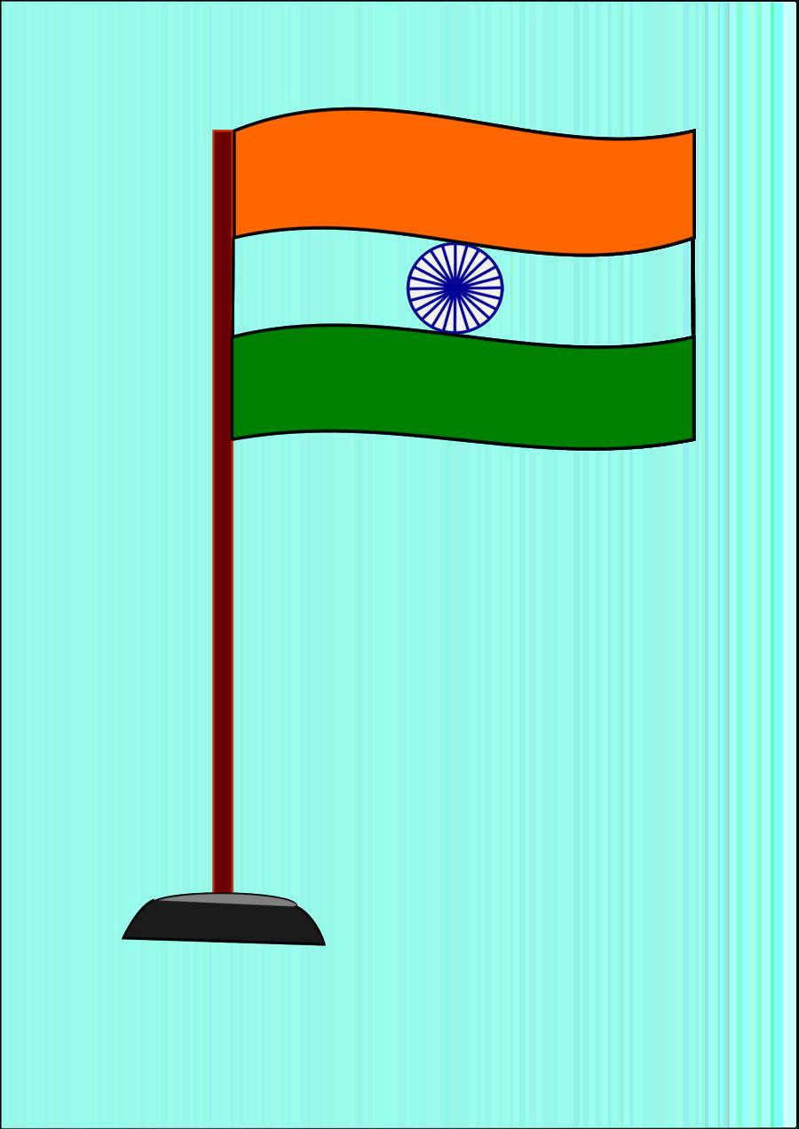 Clipart indian flag clip art freeuse India Flag National Flag clipart - India, Flag, Drawing, transparent ... clip art freeuse