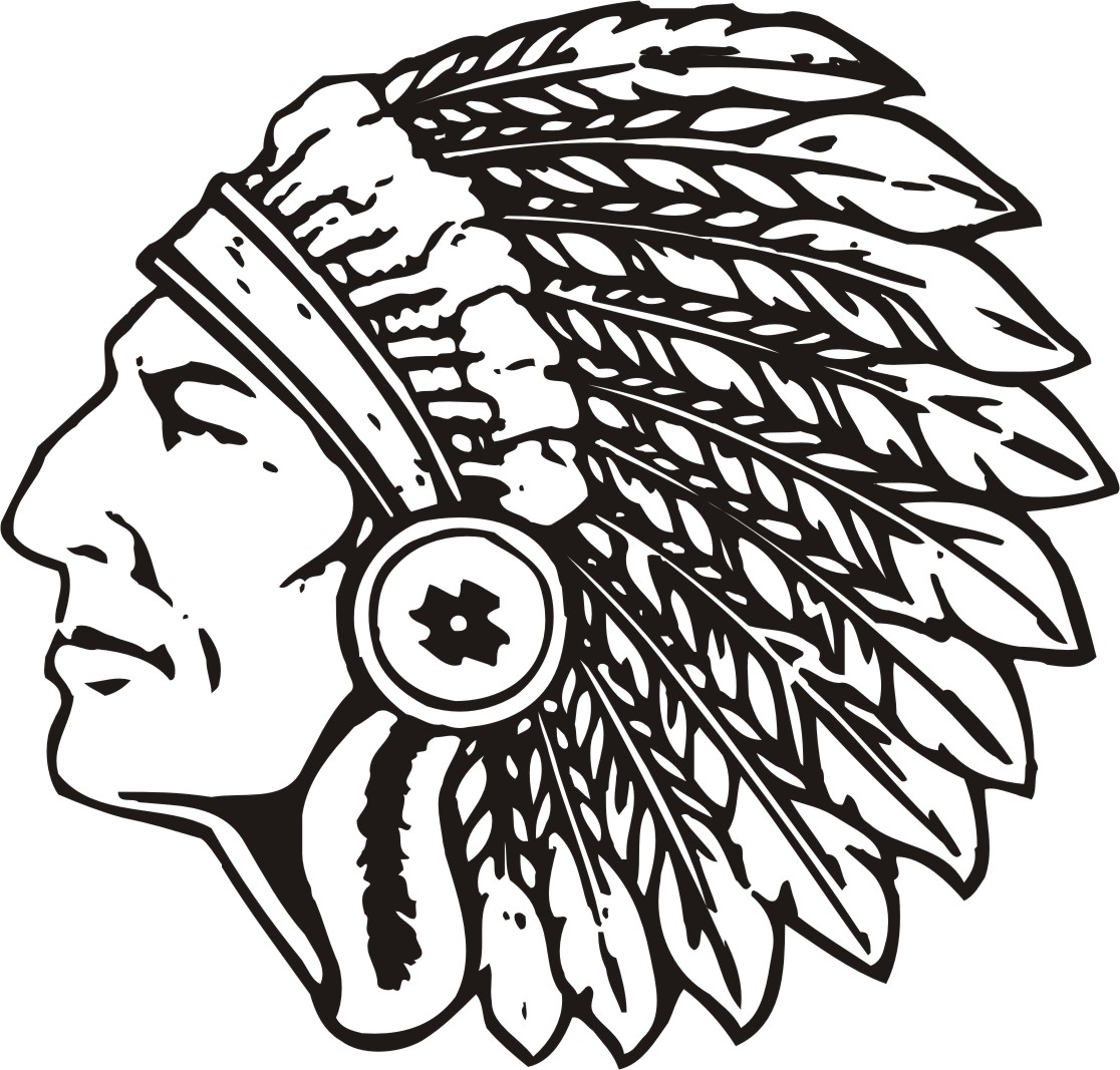 Clipart indians football png freeuse library 7+ Indian Head Clip Art   ClipartLook png freeuse library