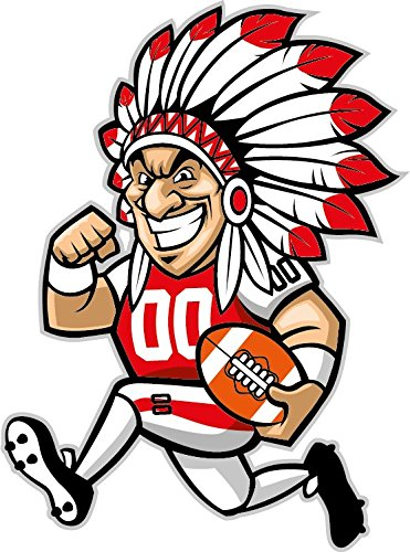 Clipart indians football image black and white library Free Indian Football Cliparts, Download Free Clip Art, Free Clip Art ... image black and white library