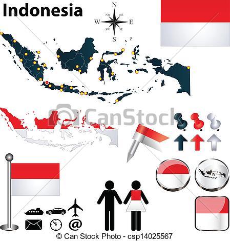Indonesian rupiah clip art. Clipart indonesia
