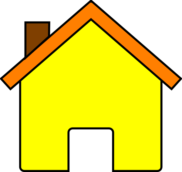 Free clipart house images png free stock Yellow House 2 Clip Art at Clker.com - vector clip art online ... png free stock