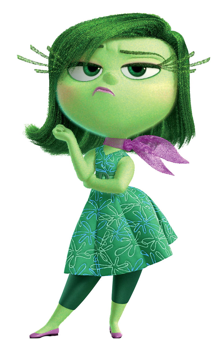 Clipart inside out picture free Disgust Inside Out Transparent PNG Image picture free